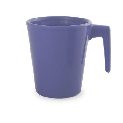 violetinis keramikinis puodelis