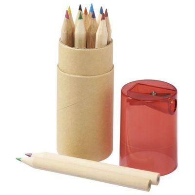 spalvoti pieštukai su drožtuku