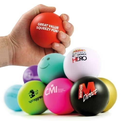 antistresinis kamuoliukas su logotipu