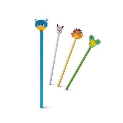 Medinis pieštukas su trintuku