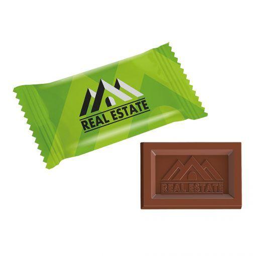 šokoladukai su logotipu