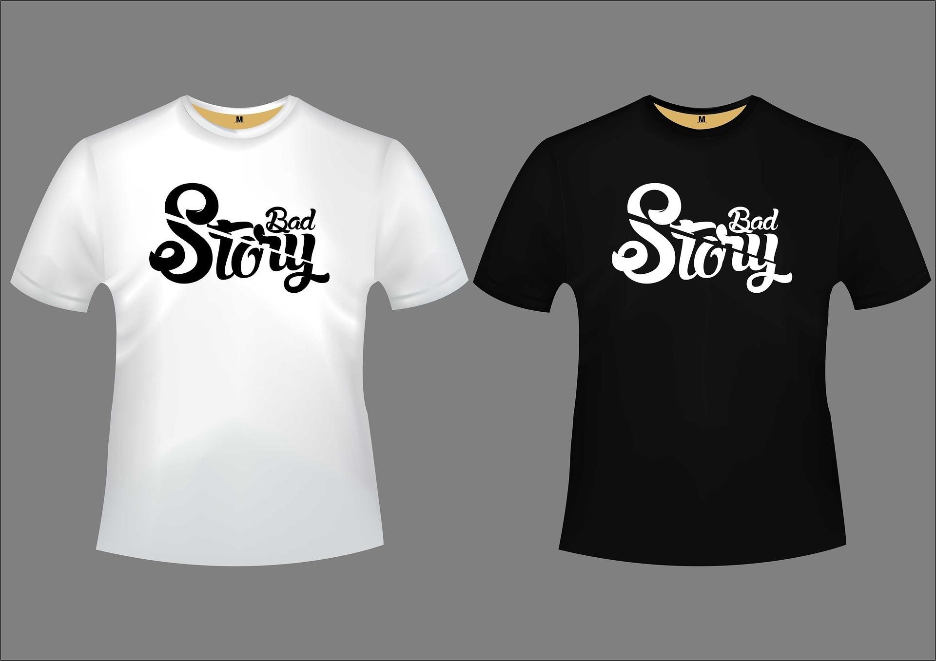 marškinėliai su logotipu